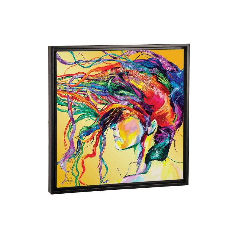 Windswept by Linzi Lynn Black Gicl�e Print Canvas Art