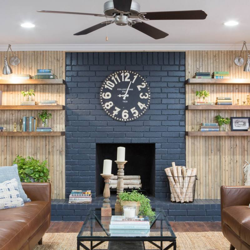 Fixer Upper modern farmhouse living room ideas