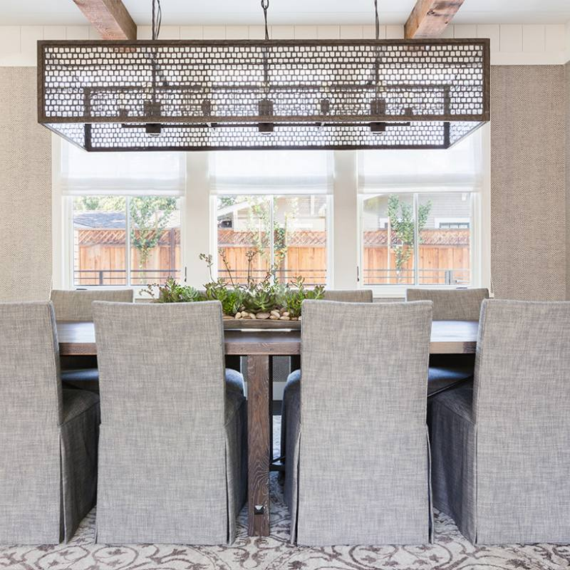 Modern farmhouse dining room design by j robin...