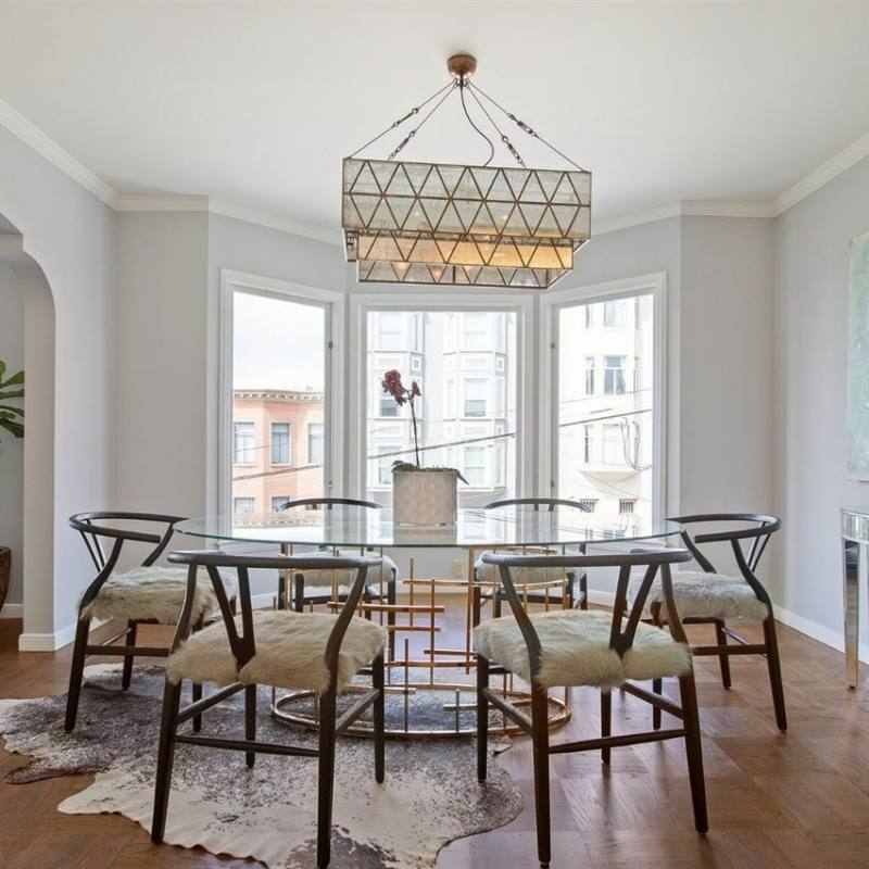 Midcentury Eclectic dining room