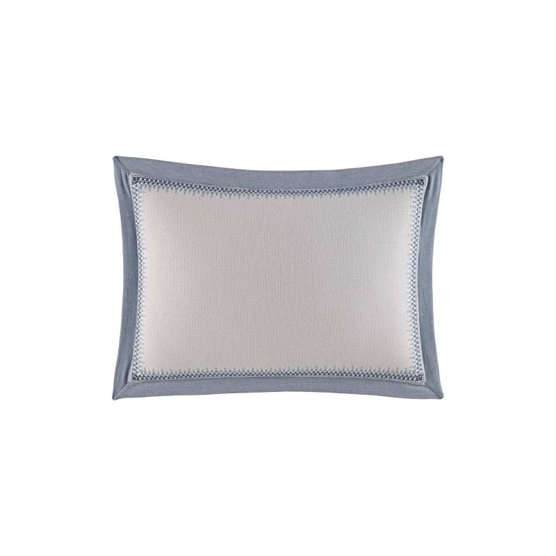 Abbot Embroidered Accent Pillow
