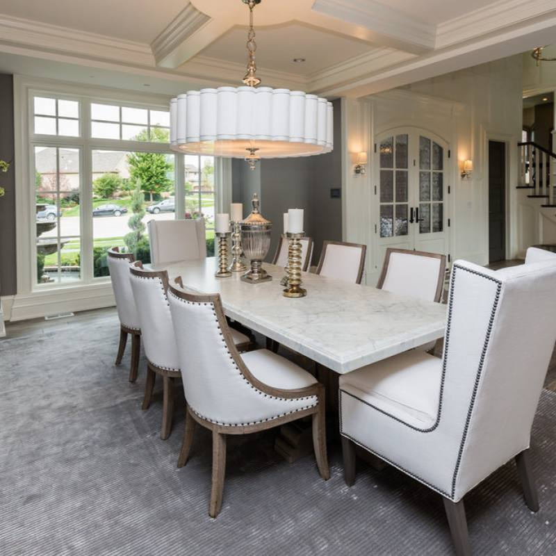 Classic Traditional Elegant meghan blum dining room