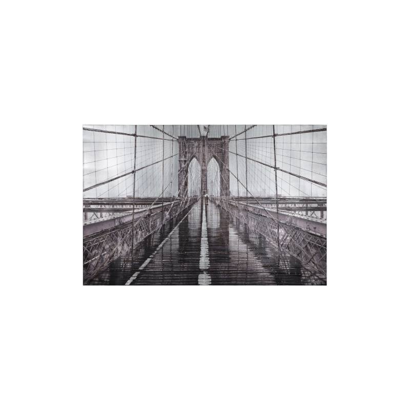 Iconic Brooklyn Bridge Canvas Wall Art
