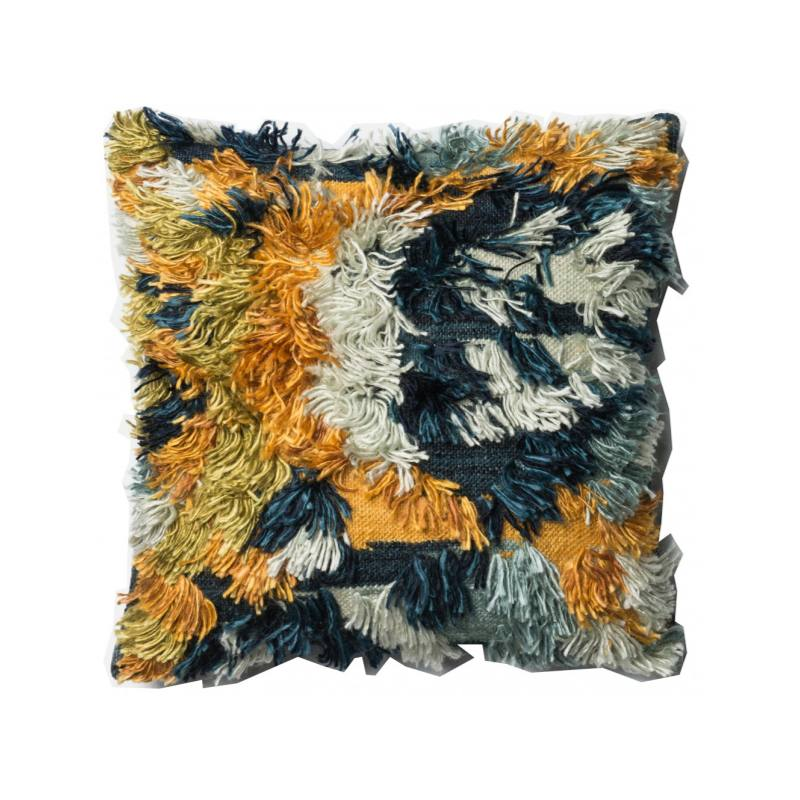 Justina Blakeney Fable Pillow, Blue & Gold