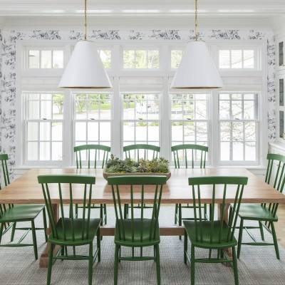 Get the look: Country style dining room