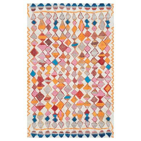 Hand Tufted Moroccan Multi-colored Rug - nuLOOM