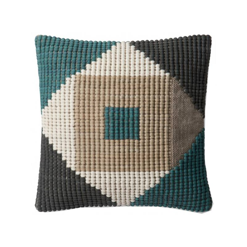 Quilla Indoor/Outdoor Pillow, Blue