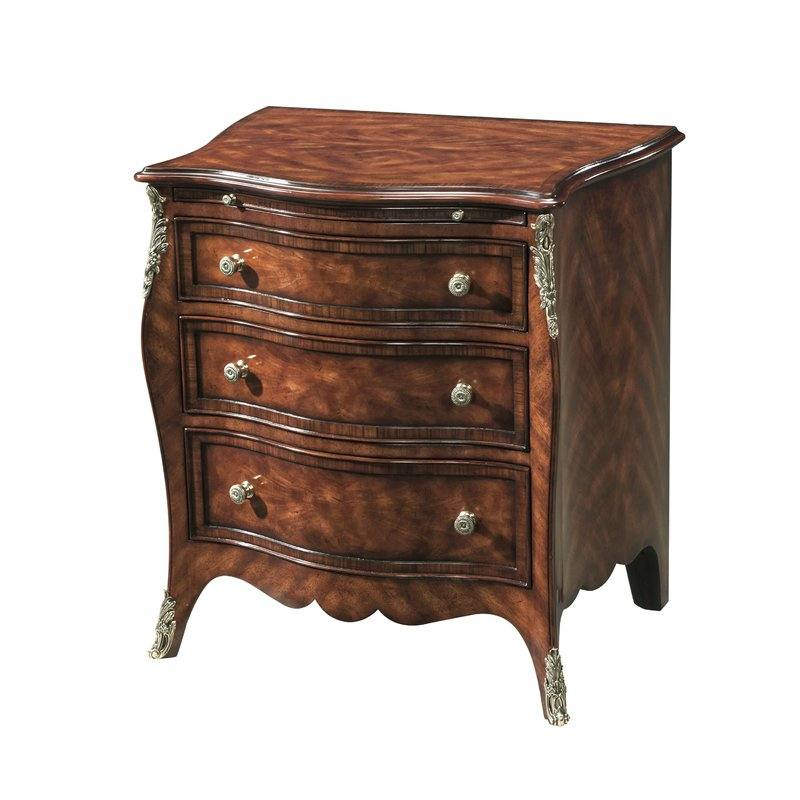 Henry Hill 3 Drawer Nightstand