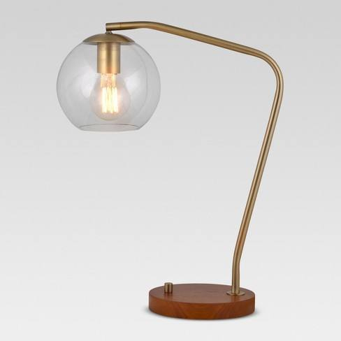 Menlo Glass Globe Desk Lamp - Project 62�