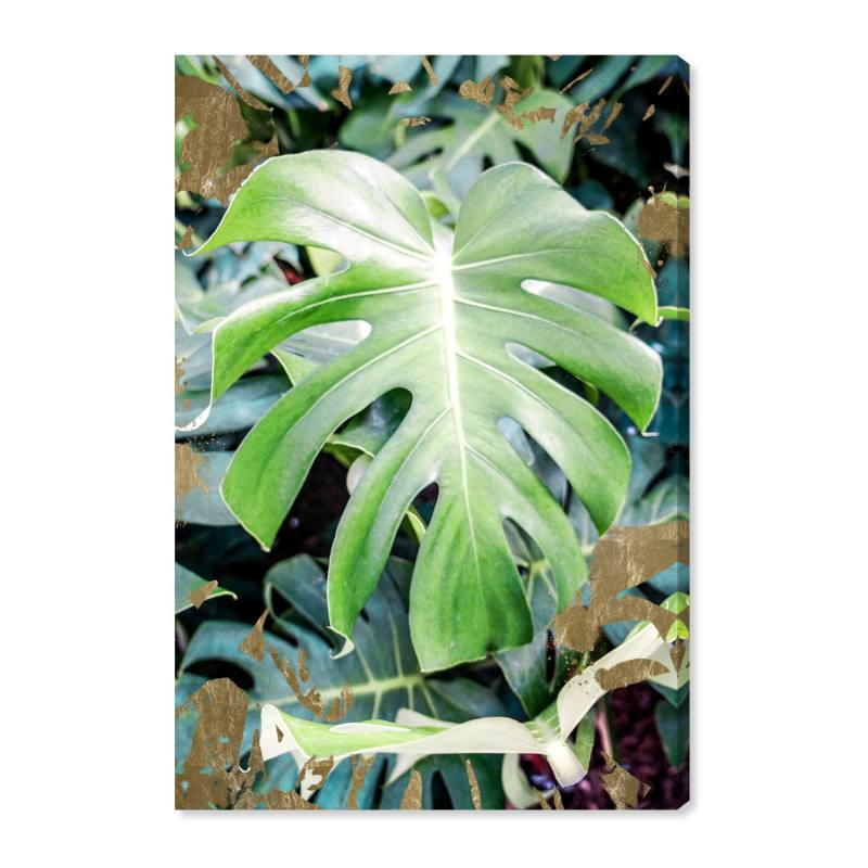 Monstera Jungle Canvas Wall Art