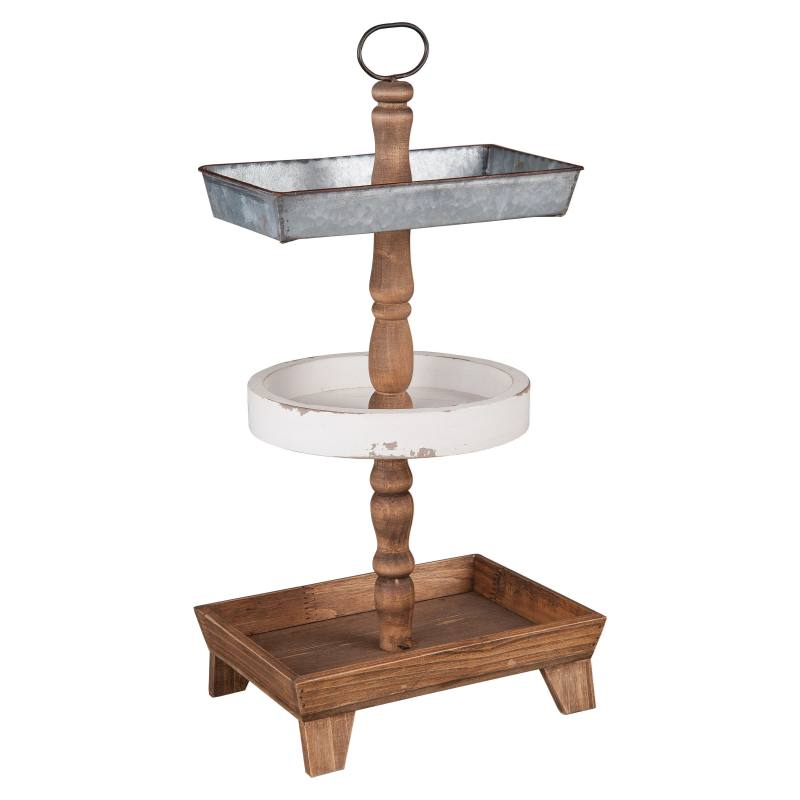Three-Tier Tray