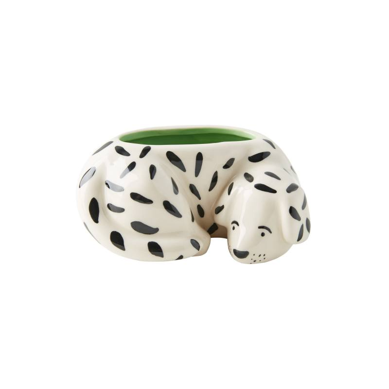 Megan Burke Ceramic Dog Pot