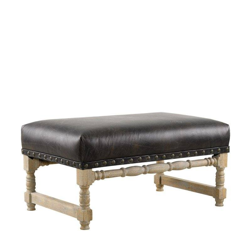 Antwerpen Leather Bench