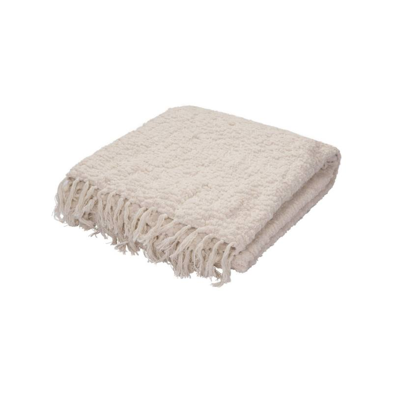 Maryla Throw Blanket, Snow
