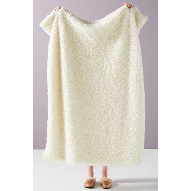 Fuzzy Wuzzy Faux Fur Throw Blanket