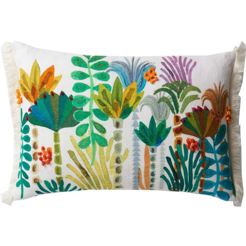 Justina Blakeney Tropics Lumbar Pillow, Multi