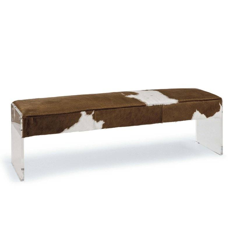 Dominic Leather Bench