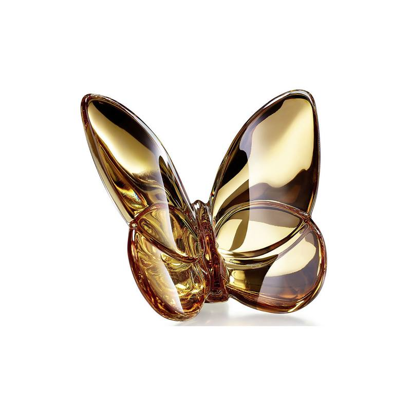Lucky Lead Crystal Butterfly