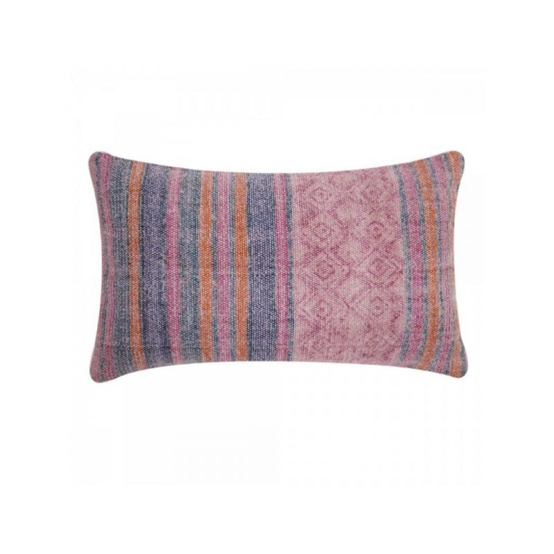 Talise Lumbar Pillow, Pink