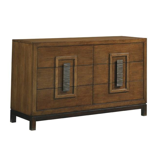 Island Fusion Tahara 6 Drawer Double Dresser