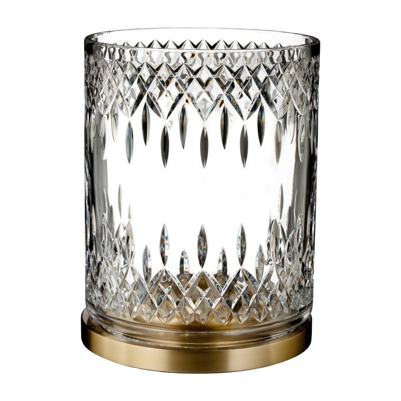 Lismore Reflection Lead Crystal Hurricane Glass