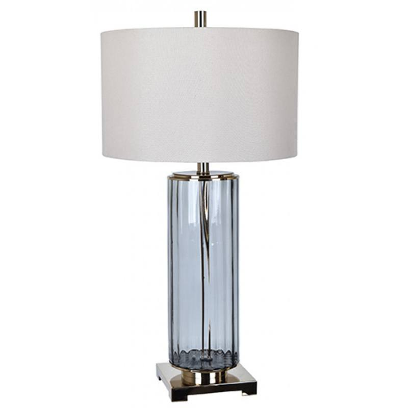 Warby Table Lamp, Gray