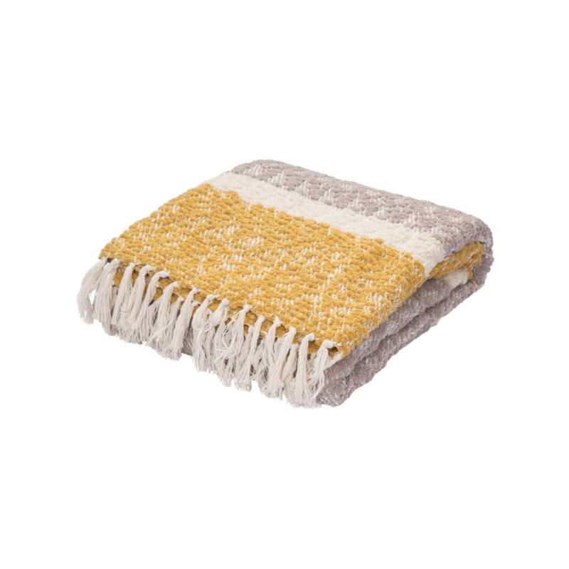 Maryla Throw Blanket, Lemon