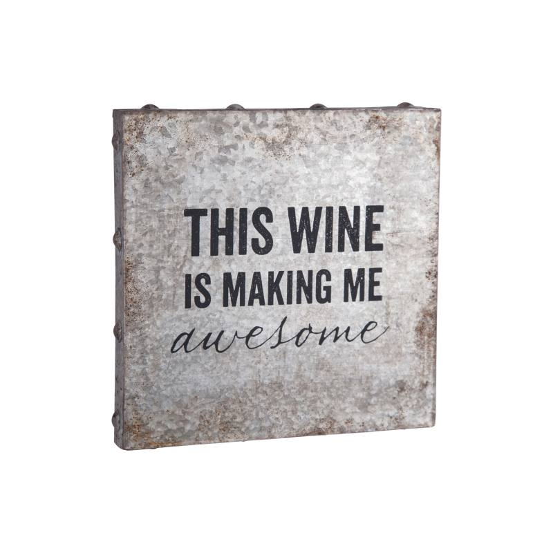 Wine Metal Wall Art