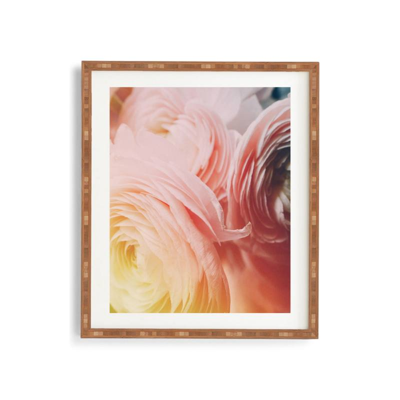 Floral Child Framed Wall Art