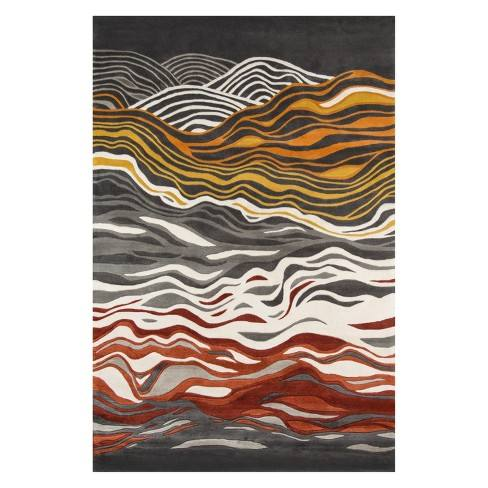 New Wave Giorgio Wave Tufted Rug - Momeni