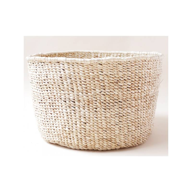 Faizah Floor Basket, Natural
