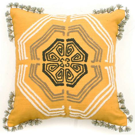 Zangoora Pillow Yellow