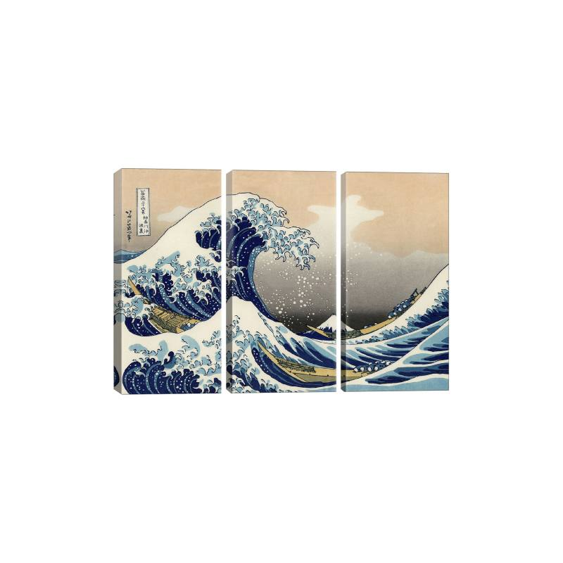The Great Wave at Kanagawa 1829 Gicl�e Print Canvas Art